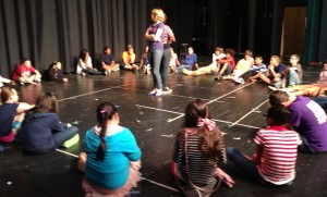 05.10.13 - Students from Waddell Language Academy (Charlotte, NC) participating in an improv theatre workshop lead by Scott Pacitti of Actor's Crib, Inc. and funded by the Arts and Science Council Charlotte.