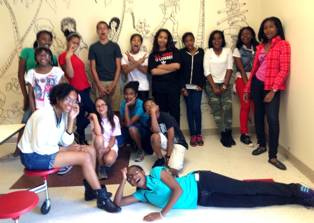 06.03.13 - The wonderful students of the Piedmont Middle School After School Enrichment Program.