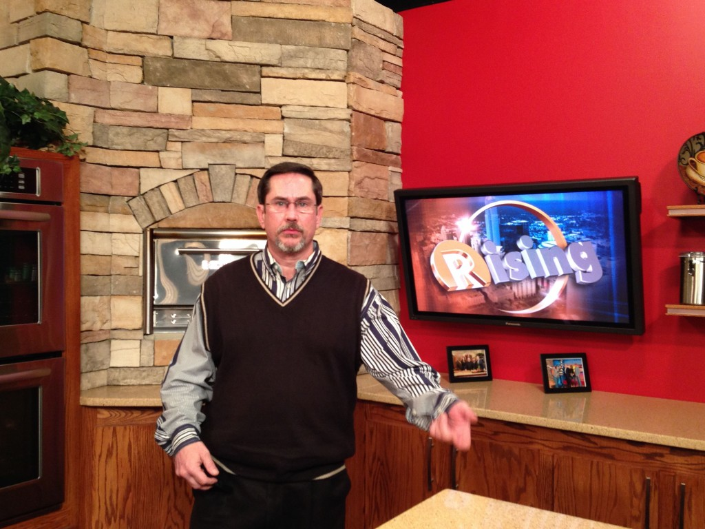 10-10-2013 - Steve of the Chuckleheads visits WCCB News Rising.