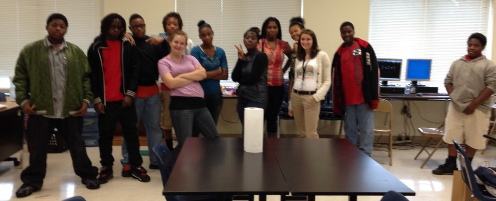 10-14-2013 - The wonderful students and teacherts of Druid Hills Academy.