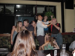 07.13.13 The How's Your Summer Going ? Comedy Improv Musical Variety Extravaganza Starring the Chuckleheads at the Dilworth Neighborhood Grille, Charlotte, NC.