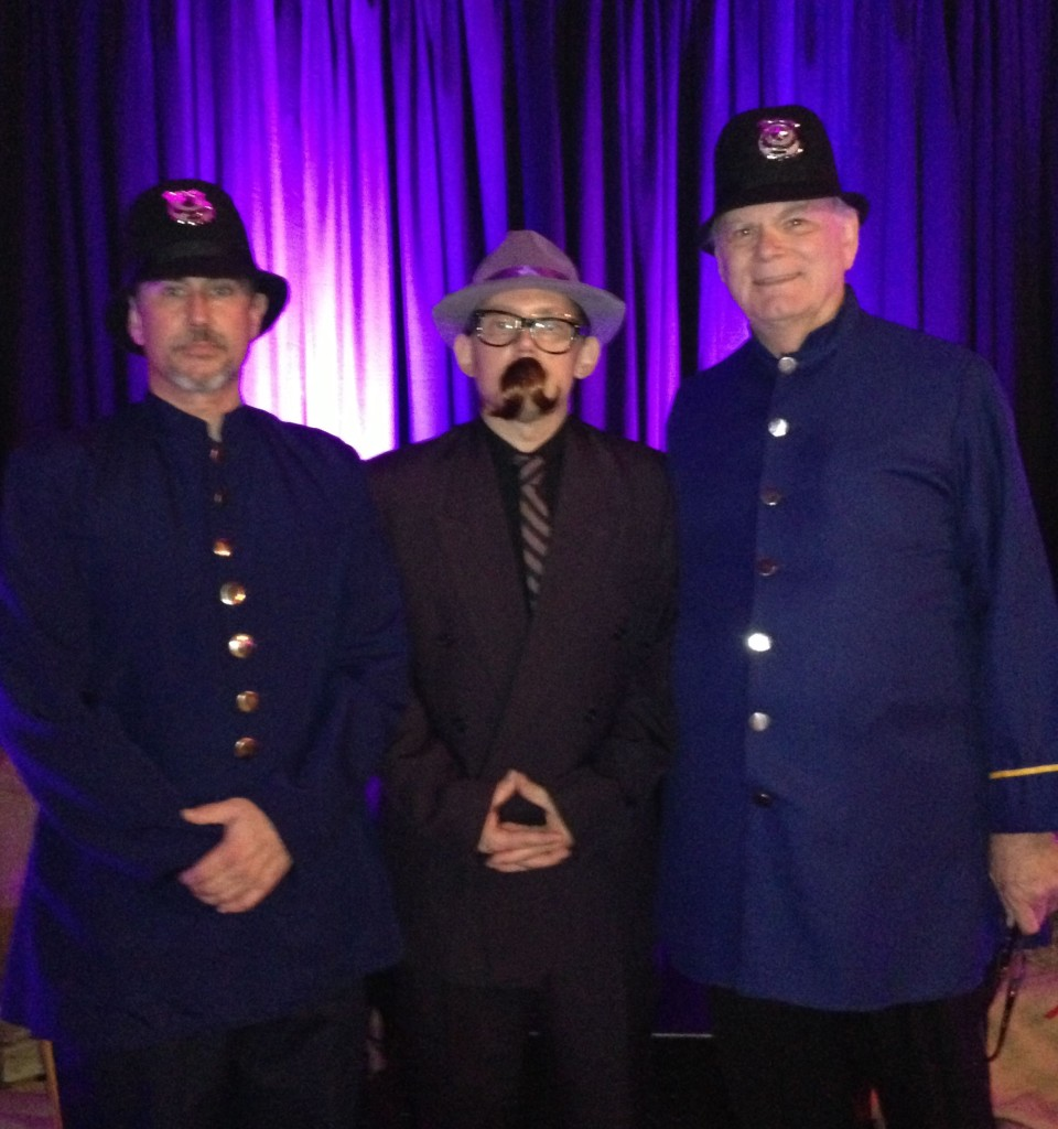 07.27.13 - (L to R) Officer Steve, Police Commissioner Miles O'Shea, and Officer Richard participate in the International Special Events Society (ISES) Greater Charlotte Chapter EVIE Awards 2013