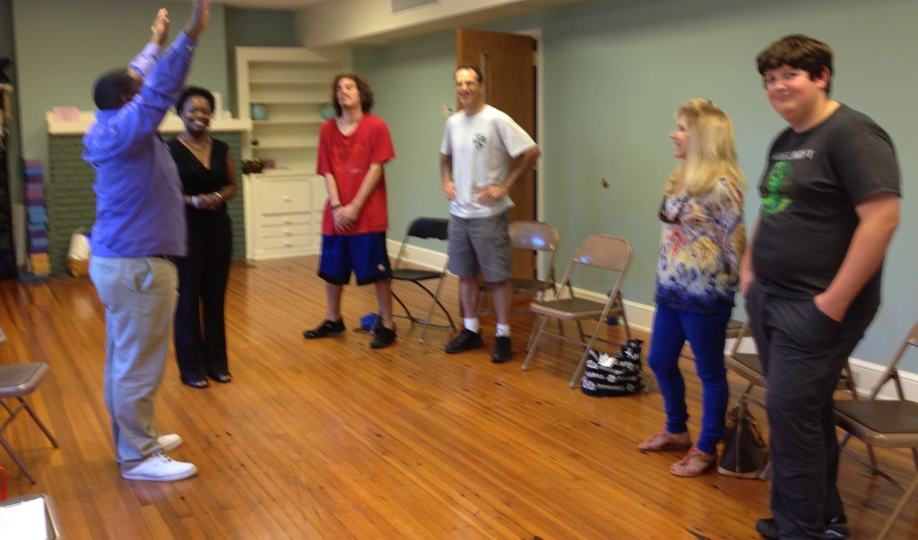 09.14.13 - The Carolina Learning Connection improv class.