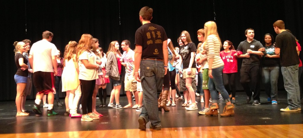 09.14.13 - The Marvin Ridge High School Theatre Camp.